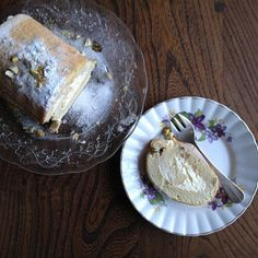 Hot & Chilli food and travel blog: Lime mousse roulade