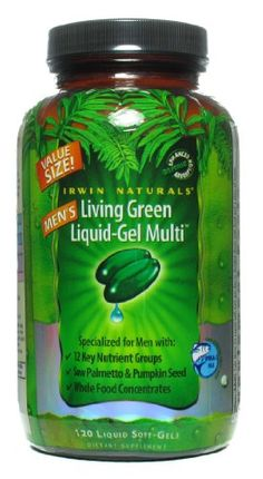 Irwin Naturals Men's Living Green >>> You can find more details by visiting the image link.