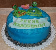 Frog cake 2