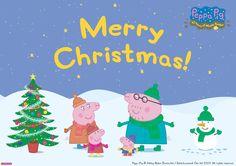 Happy Holidays Peppa Pig