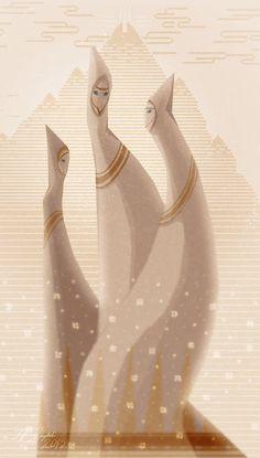 The Ancestors by almond-goddess on deviantART
