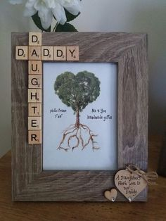 Daddy Daughter Photo Frame
