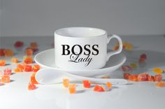 BOSS LADY espresso mug-Like a boss-Gift for boss-Boss day-Best boss-Boss lady-Gift ideas for boss-Gifts ideas-Birthday gift-new boss gift