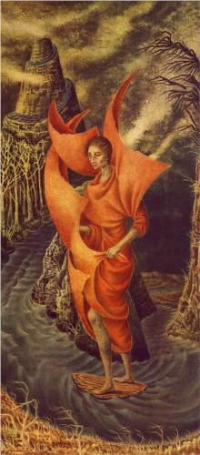 Artist Remedios Varo (Spanish-Mexican:1908-1963) | Ascension