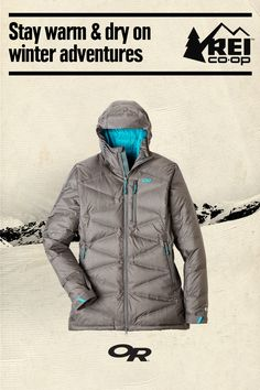 Bask in the warmth and weather protection of the Women's Outdoor Research Floodlight Down Parka. This REI exclusive is waterproof, windproof and breathable, and is ideal for urban or mountain adventures. Shop now.
