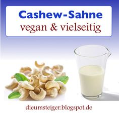 Cashew-Sahne selbstgemacht!