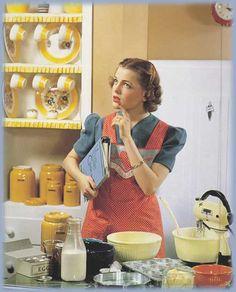 50s Kitchen.