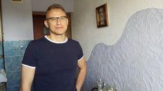 PIERWSZY WYPIEK KRZYSZTOFA- CHLEB NA ZAKWASIE- Dumna z męża chleb Pycha:)