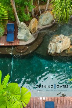 How's the serenity? Our designers at our LIFE by DESIGN Retreats love the quiet Serenity Pool at Peppers Beach Club & Spa, Palm Cove Queensland Australia. Transform Your Life, Queensland Australia, Beach Club, Serenity, Gate, Spa, Designers, Outdoor Decor, Travel