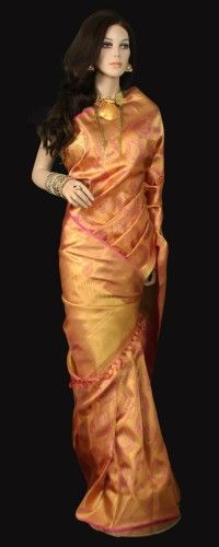 All Gold Bridal Kanjeevaram Saree