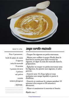 Carton Recette n°95 Cantaloupe, Latte, Nutrition, Fruit, Food, Grape Seed Oil, Dutch Oven, Custom In, Organization