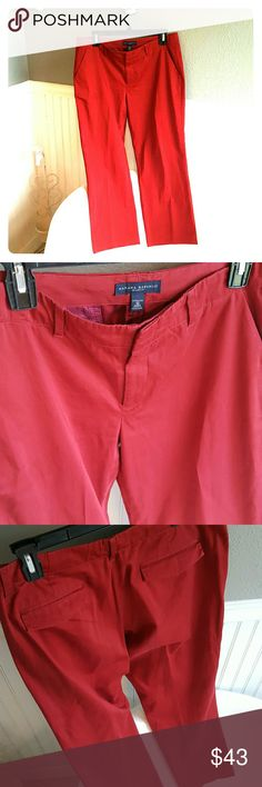 SALEBanana Republic Pants! Selling a pair of Like New Banana Republic Pants! These Pants are the Martin fit and have a beautiful deep red color to them. Only worn a couple times, in great condition and size 10. Banana Republic Pants Ankle & Cropped