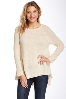 Olivia Sky Split Back Sweater