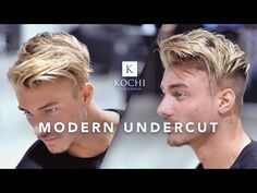 The modern undercut always works. Great video about Kochi with Johnny Edlind. Johnny Edlind, Mens Summer Hairstyles, Quiff Hairstyles, Heatless Hairstyles, Hairstyle Men, Hairstyles Videos, Glasses Hairstyles, Trending Haircuts, Cool Haircuts