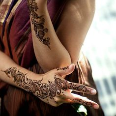 Henna tattoos could be creative festival fashion statement.