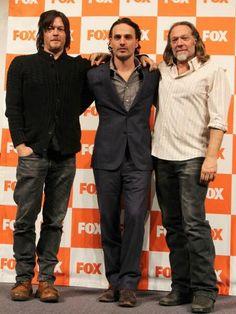 Reedus, Lincoln and Nicotero (Japan)