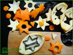 Dekorace z pomerančové kůry