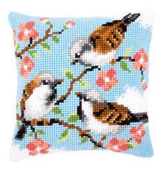Cuscino: Uccellini