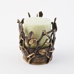 Michael Michaud tealight holder - Twigs