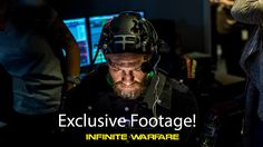 First shots of Conor McGregor rehearsing in Motion Capture Suit for his Call of Duty Infinite Warfare feature