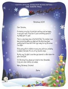 Pin By Jingle Bells Mail On Letters From Santa Claus