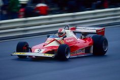 Clay Regazzoni (Scuderia Ferrari), Ferrari 312T2 - Ferrari Tipo 015 3.0 Flat-12, 1976 German Grand Prix, Nürburgring Nordschleife