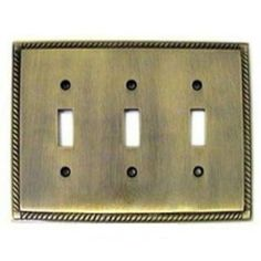 Check out the Colonial Bronze 6006-3T Arlington Triple Toggle SwitchPlate