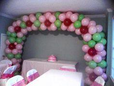 #nanisetc flower balloon arch