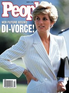 March 11, 1996 Princess Diana - People magazine cover