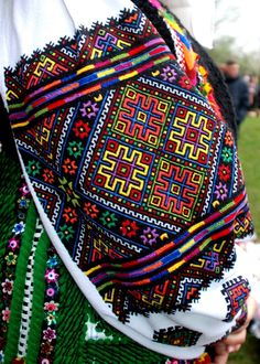 Ukraine, from Iryna Vera Bradley Backpack, Embroidery Patterns, Ukraine, Drawstring Backpack, Textiles, Costumes, Stitch, Knitting, Sewing