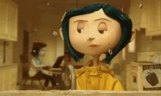 Screencap Gallery for Coraline Bluray, Laika). When Coraline moves to an old house, she feels bored and neglected by her parents. Coraline Jones, Coraline Movie, Neil Gaiman, I Love Cinema, Coraline Aesthetic, Laika Studios, Tim Burton Films, The Secret World, Dragons