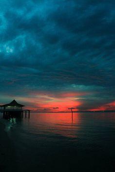 Sri Lanka- sunsets are incredible.
