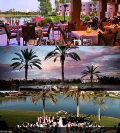 They say this is a great wedding venue but this space is great for any event; Millennium Scottsdale Hotels and Resorts!