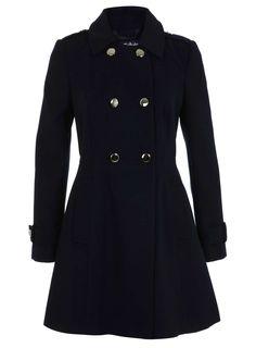 Military Pea Coat - Coats & Jackets - Sale & Offers - Miss Selfridge US