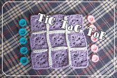 the ordinary diary: How to crochet - Tic Tac Toe