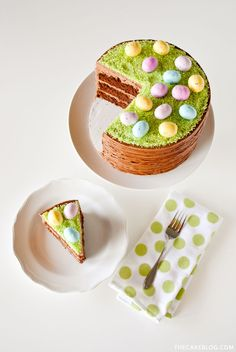 Easter Basket Cake - GoodHousekeeping.com