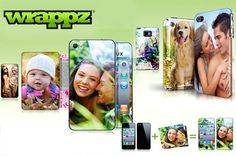 Style up your phone and protect it from little hands – personalised iPhone, iPod Touch or Smartphone hard case covers from Wrappz, now just £9!