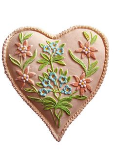Springerle heart! Perfect for favors!