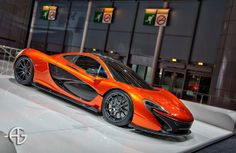 McLaren P1, Salon de L'automobile 2012, Paris, France