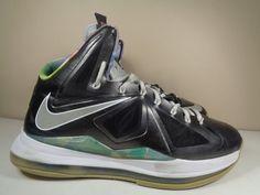 e6896c4c01 Mens Nike Air Max Lebron 10 X Basketball shoes size 1 US 541100-004 #