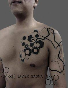 hexagon tattoo - Google Search