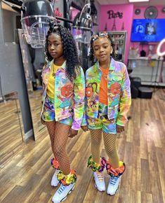 Black Kids Fashion, Cute Kids Fashion, Baby Girl Fashion, Boujee Outfits, Cute Swag Outfits, Kids Outfits, Cute Birthday Outfits, Birthday Outfit For Teens, Cute Little Girls Outfits