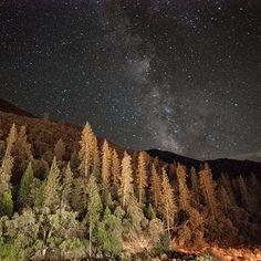 #Yosemite #MilkyWay America National #Park #Landscapes #Nature #Kozzi - Dollar Stock Images - http://kozzi.tv/VyqSO