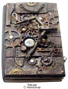 Livres d'or Steampunk