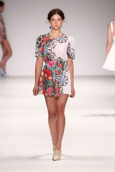 interpretations of Hungarian folk art:  Fashion Week 2012 | Alice McCALL