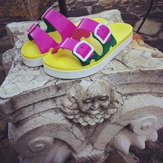 SENSI  #sandals #sensi #multicolor #lajolla #summer #beach #sunset #sun #aperitif #beach #fashion #style #street #vogue #instagood #like4like #available #instore #follow #lajollalocals #sandiegoconnection #sdlocals - posted by FARAONE  https://www.instagram.com/faraonecalzature. See more post on La Jolla at http://LaJollaLocals.com
