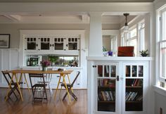 love those built in shelves /// Consuelo's Contemporary Echo Park Craftsman Home