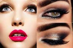 este es un maquillaje oscuro pero brillante aqui podemos conbinarlo con prendas claras oscuras de cualquier tipo oscuras o claras este color pastel no es tan utilizado pero  como pueden ver queda muy lindo si se lo saben aplicar. este maquillaje transmite una seguridad en la mujer y una mirada cautivadora