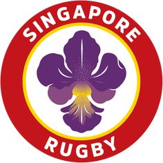 Singapore Rugby Team Logo Badges, Rugby Nations, Rugby Union Teams, International Rugby, World Rugby, Team Logo, Logos, Asia, Sports