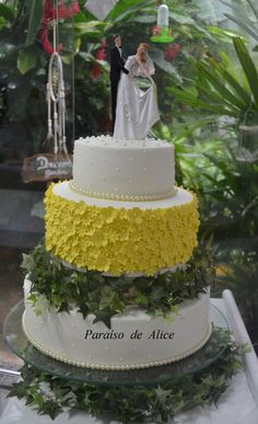 Bolo de Casamento #weddingcake
